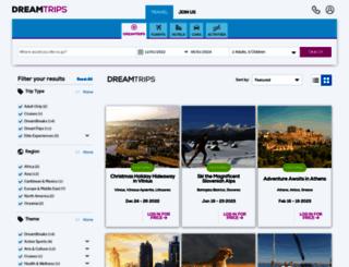 clubparadisetravel.dreamtrips.com screenshot