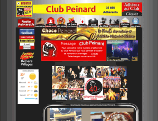 clubpeinard.com screenshot
