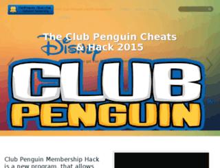 clubpenguin-cheats.com screenshot