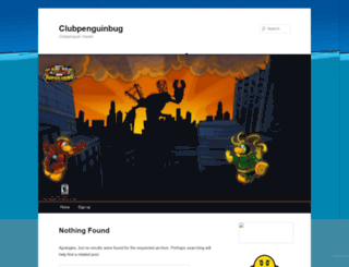 clubpenguinbugcheats.wordpress.com screenshot
