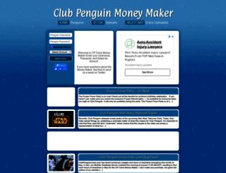 clubpenguincoins.com screenshot