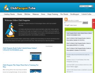 clubpenguintube.com screenshot