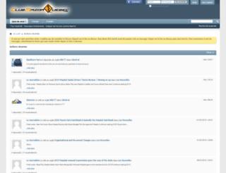 clubprotegequebec.com screenshot