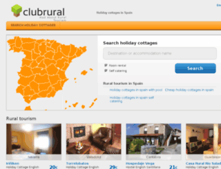 clubrural.co.uk screenshot