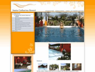 clubsantacatharina.com screenshot