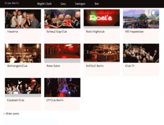 clubsberlin.net screenshot