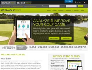 clubsg.skygolf.com screenshot