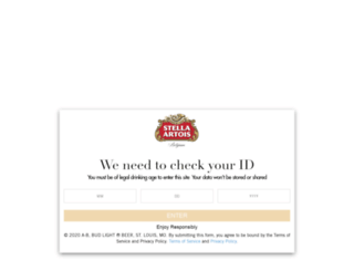 clubstellaartois.ca screenshot