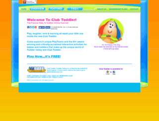 clubtoddler.com screenshot