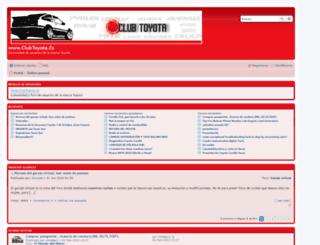 clubtoyota.es screenshot