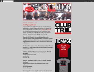 clubtrillion.blogspot.com screenshot