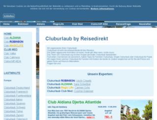 cluburlaub.org screenshot