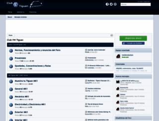 clubvwtiguan.com screenshot