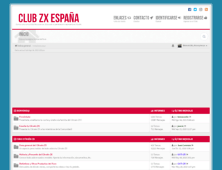 clubzx.es screenshot