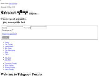 clueduppuzzles.telegraph.co.uk screenshot