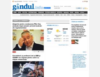 clujeanul.gandul.info screenshot