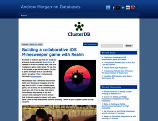 clusterdb.com screenshot