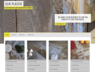 clwplastic.com screenshot