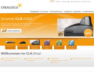 clx-shop.ch screenshot