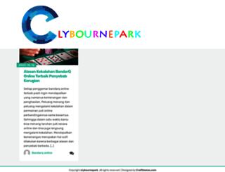 clybournepark.co.uk screenshot