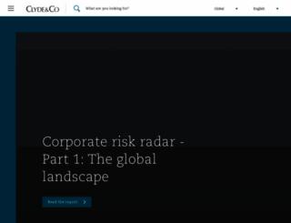 clydeco.com screenshot
