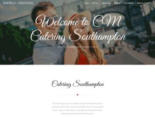 cm-catering.com screenshot