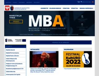 cm-uj.krakow.pl screenshot