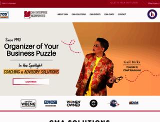 cma-ent.com screenshot