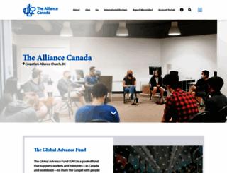 cmacan.org screenshot