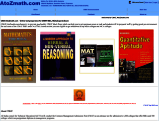 cmat.atozmath.com screenshot