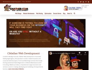 cmather.com screenshot