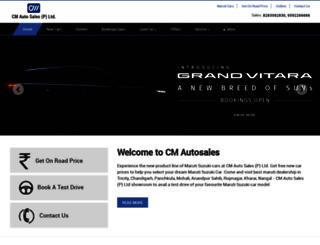 cmautosales.net screenshot