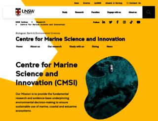 cmb.unsw.edu.au screenshot