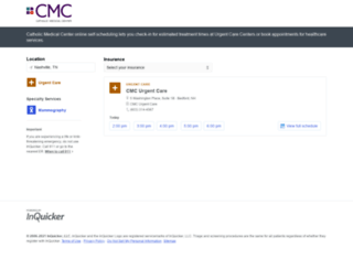 cmc.inquicker.com screenshot