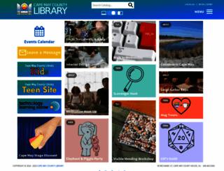 cmclibrary.org screenshot