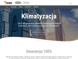 cmclima.pl screenshot
