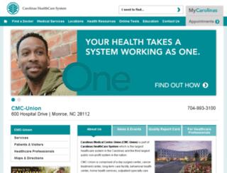 cmcunion.com screenshot