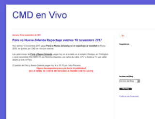 cmdenvivo.blogspot.com screenshot