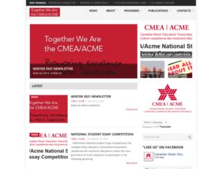 cmea.ca screenshot