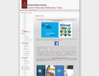 cmf.p.lodz.pl screenshot