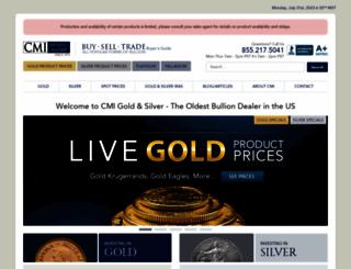 cmi-gold-silver.com screenshot