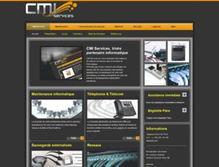 cmi-services.info screenshot