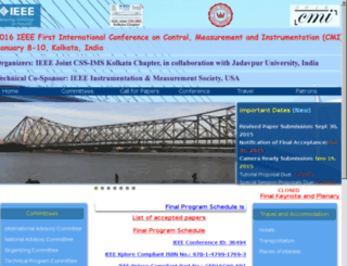 cmi2016india.org screenshot