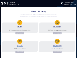 cmicapital.ca screenshot
