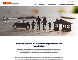 cmisnederland.nl screenshot
