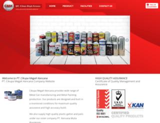 cmkcans.com screenshot