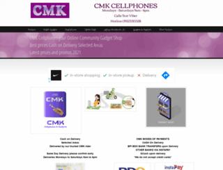 cmkcellphones.com screenshot