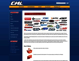 cmldistribution-uk.shptron.com screenshot