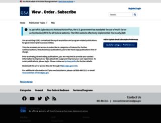 cmls.gsa.gov screenshot