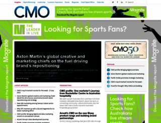 cmo.com.au screenshot